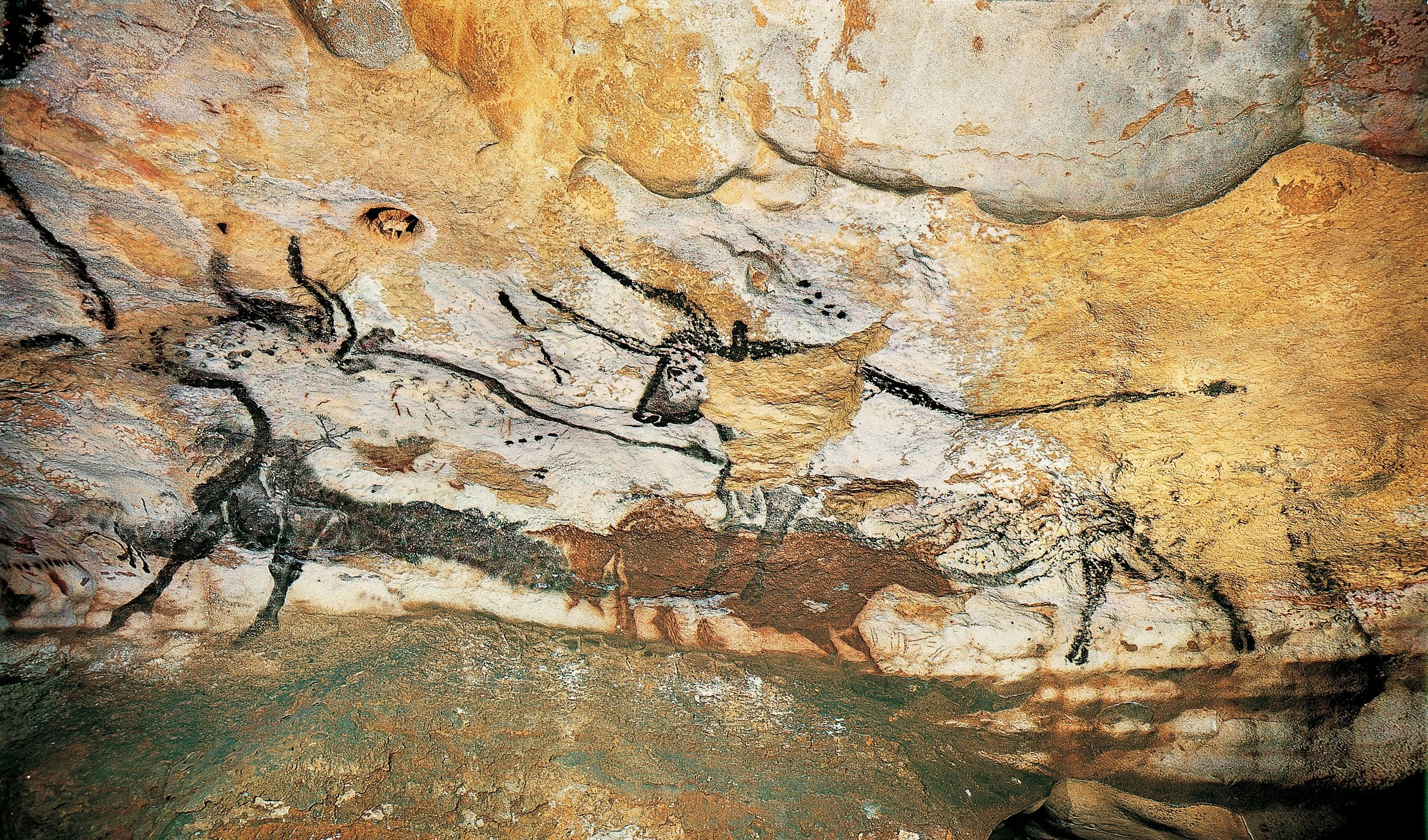 Lascaux Bear and Bulls