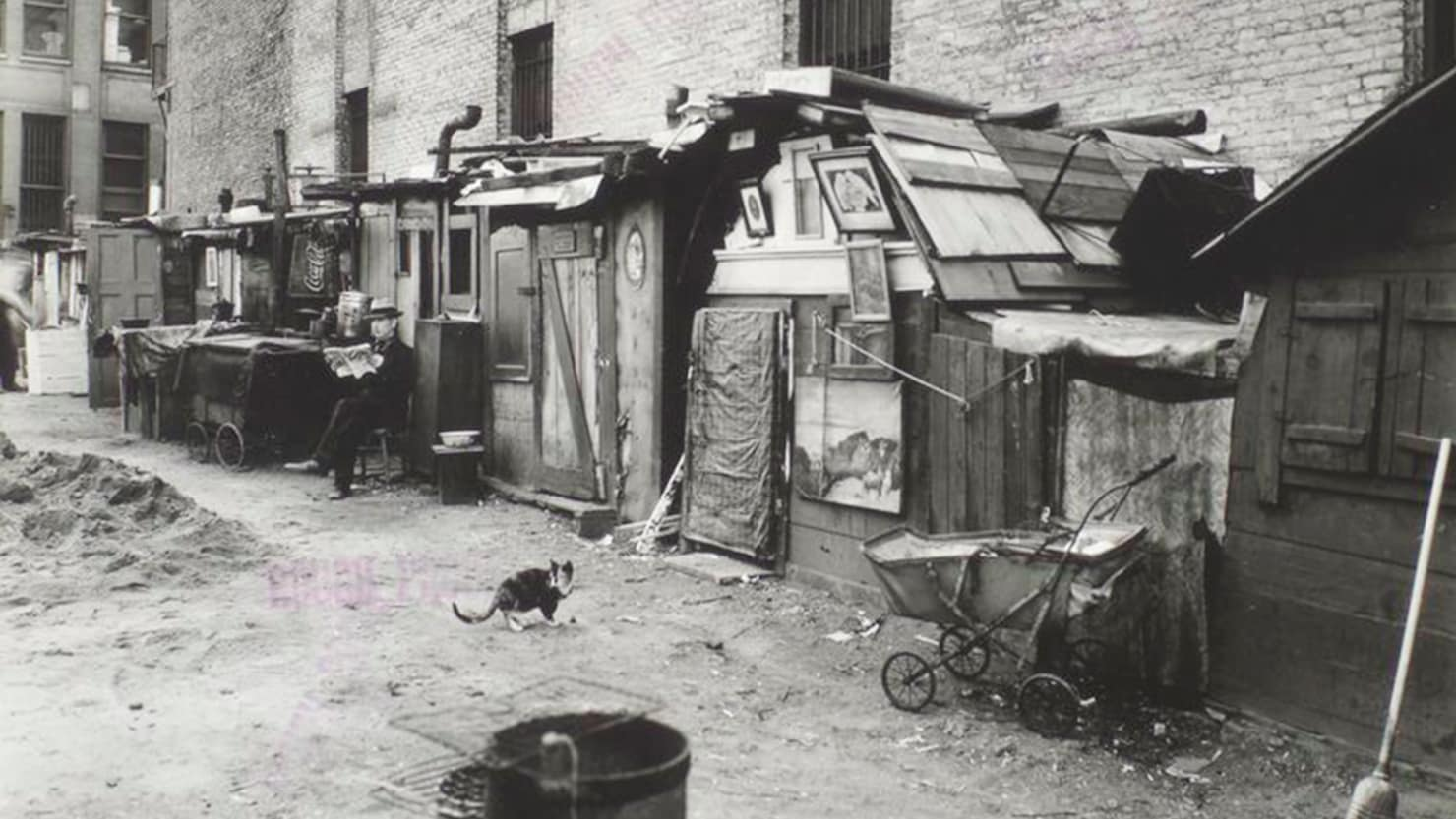 Great Depression era homeless