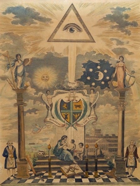 Masonic Engraving