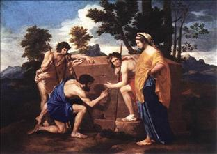 The Shepards of Arcadia by Nicolas Poussin