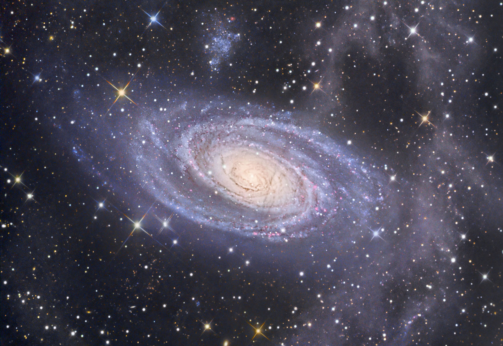 Ursa Major M81 Spiral Galaxy