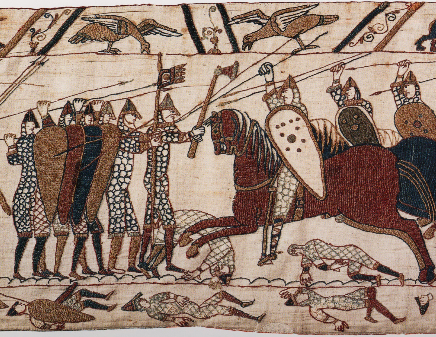 Anglo Saxon - Bayeux Tapestry