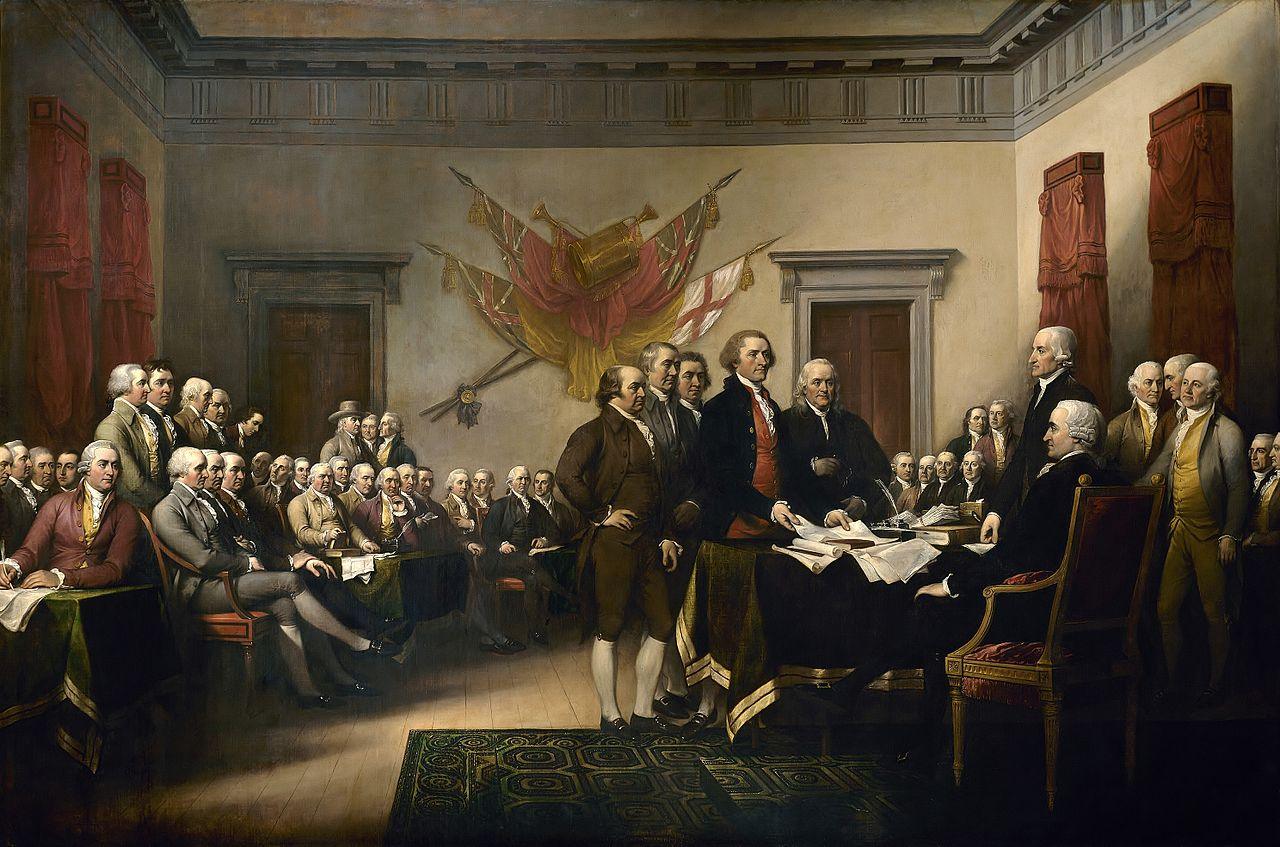 Declaration Of Independence by John Trumball