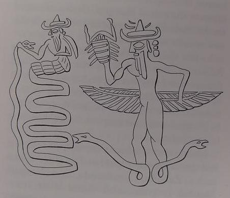 Serpent god Mesopotamian