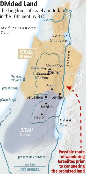 Ancient Struggle Over Holy Land Supremacy