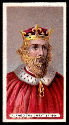 Alfred the Great 871-901 A.D.