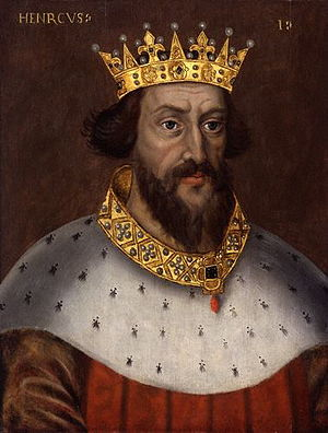 Henry I 1068-1135, fourth son of William I