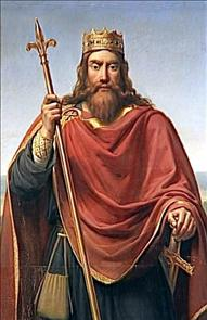 Clovis I, King of the Franks - Born in 463?; Acceded in 482; Baptized on September 22, 496; Died in 511