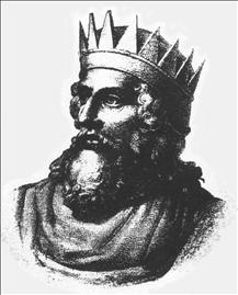 Merovich, Chieftain of the Salian Franks, Lived ca. 411 - 458. Reigned 447 - 458
