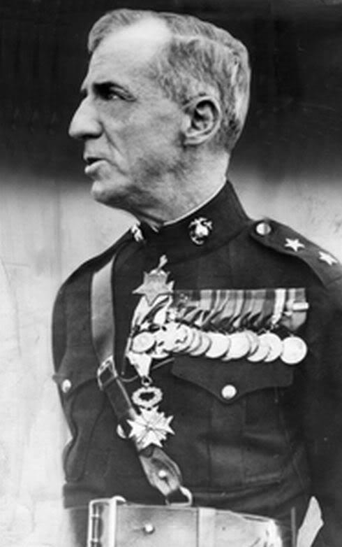 Major General Smedley D. Butler