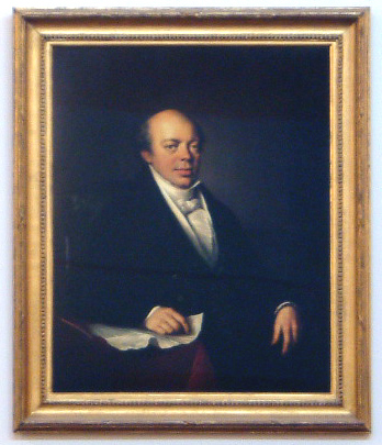 Nathan Mayer Rothschild - photographic copy of original by Louis Amie Grosclaude c. 1830