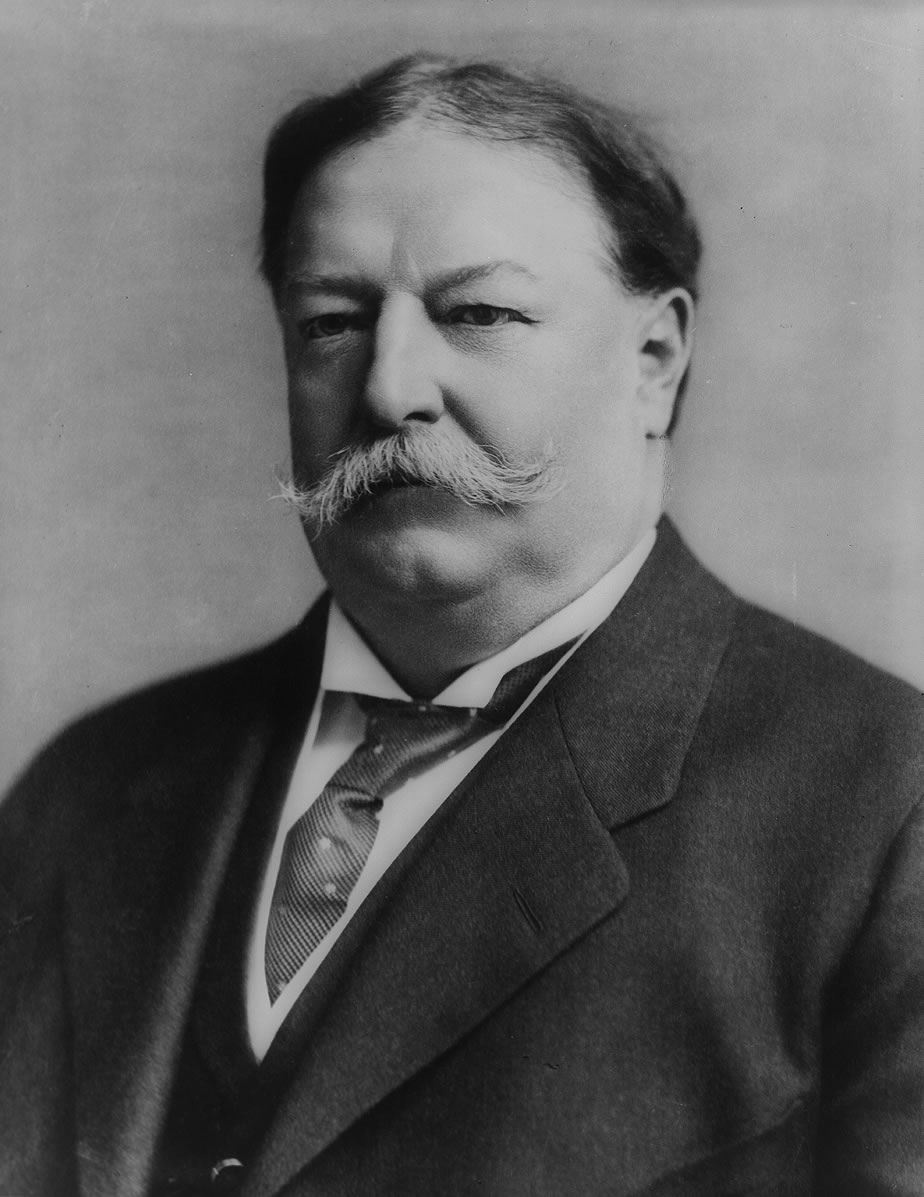 William Howard Taft 1857-1930 c1908