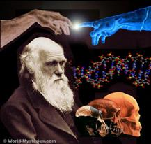 Darwin - DNA - Finger of God