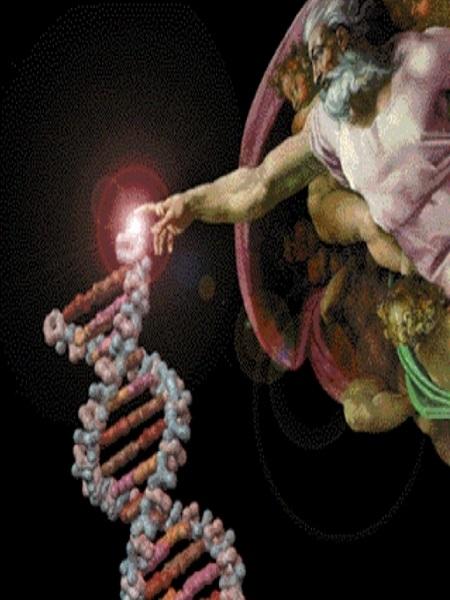 God sparks DNA