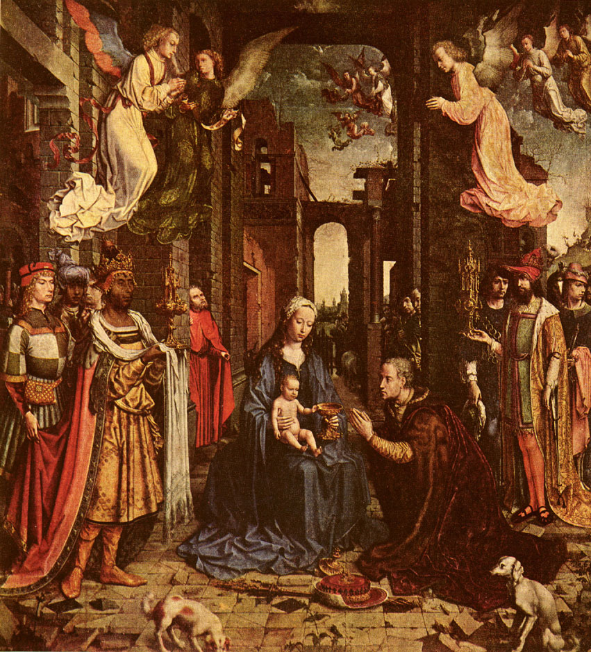 Adoration of the Kings - Jean Gossaert Mabuse