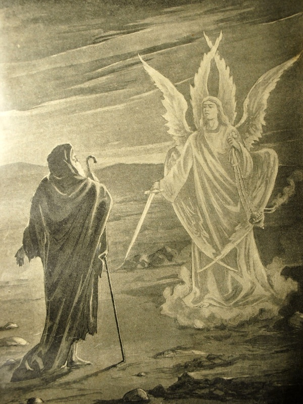 Enoch greeted by angel