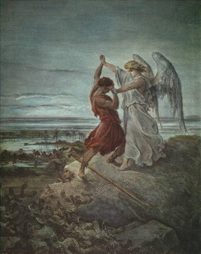 Jacob Wrestles the Angel