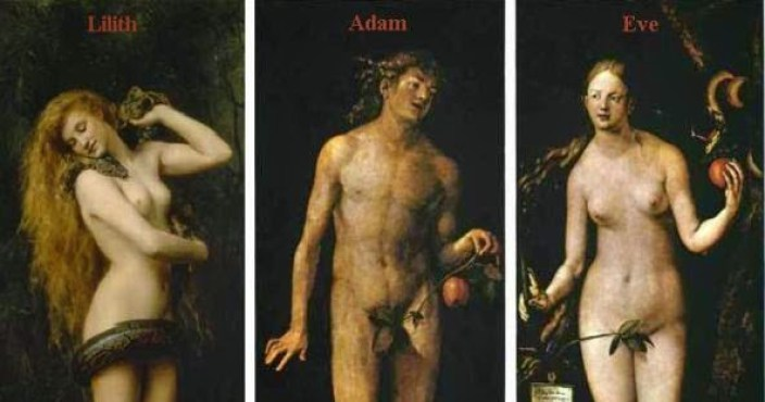 Lilith Adam Eve
