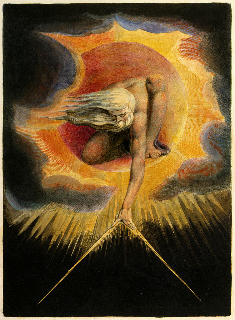 The Ancient of Days by William Blake 1794