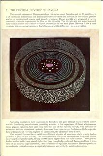 Artist representation of the Central and Divine Universe as described in The Urantia Book
